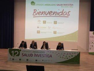 Auilino Alonso en la inauguración de las 12 Jornadas Andaluzas Salud Investiga