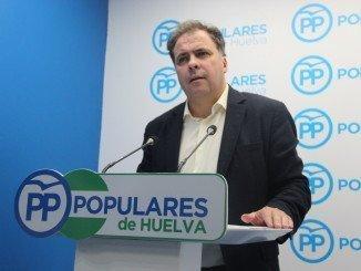 Vicesecretario general del PP de Huelva, Juan Carlos Duarte