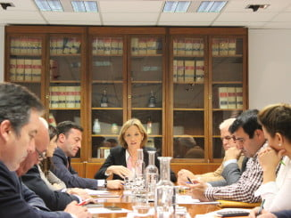 Carmen Ortiz ha presidido la Mesa de Interlocución Agraria