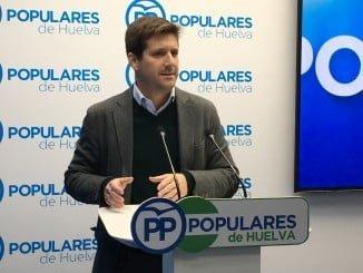 El parlamentario andaluz del PP, Guillermo García Longoria