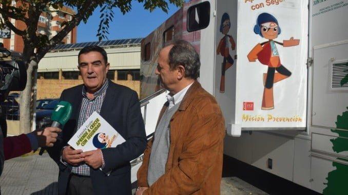 Vicente Zarza ha puesto en marcha la nueva edición en el CEIP San Fernando de Huelva