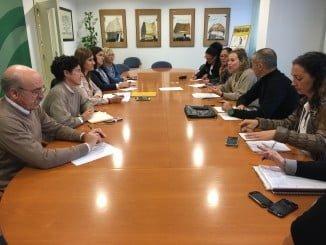 Reunión con alcaldes y diputados para abordar la limpieza de montes públicos