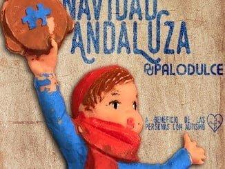 Portada del disco Navidad Andaluza, del dúo moguereño Palodulce