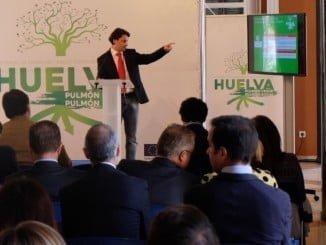 El concejal de Empleo en la presentación de EDUSI en Huelva
