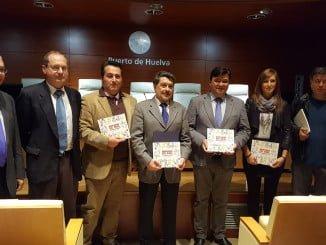 Un momento de la presentación del libro en las instalaciones del Puerto de Huelva