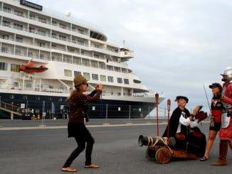 Será la tercera vez que este buque recale en el Puerto de Huelva