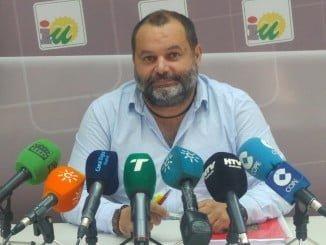 El responsable provincial de Organización de Izquierda Unida en Huelva, Rafael Sánchez Rufo