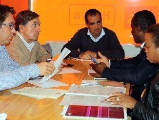 La formación naranja se ha reunido con representantes de Fecons