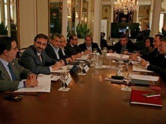 Reunión de los rectores de la Asociación de Universidades Públicas de Andalucía