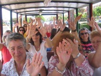 La edad media de las mujeres participantes en los talleres oscila entre los 40 y 55 años