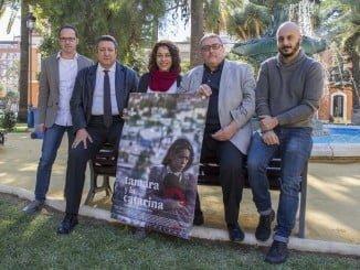 La película ha sido presentada por su directora, el productor y José Antonio del Saz