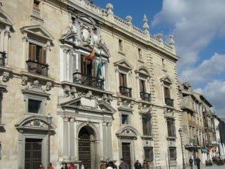 Edificio del Tribunal Superior de Justicia de Andalucía, en Granada