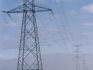 Tendido eléctrico en Andalucía