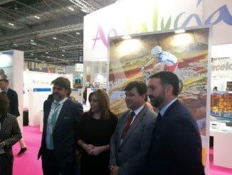 El alcalde de Huelva, también presente en la Feria de Turismo de Londres
