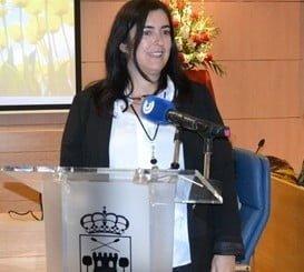 La alcaldesa de Aljaraque, Yolanda Rubio, explicó los avances de su municipio en materia de empleo
