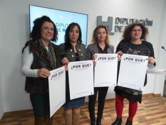 Presentación del programa de actos que se llevarán a cabo en Huelva cara al 25 de Noviembre