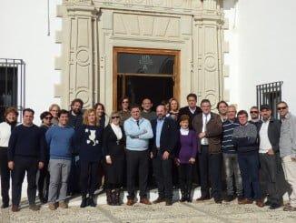 Agustín Galán ha realizado su primera visita oficial al Campus de La Rábida