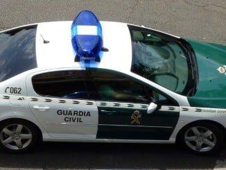 La Guardia Civil ha detenido a los dos individuos