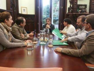 El consejero de Medio Ambiente se ha reunido con los alcaldes de los municipios afectados por el proyecto