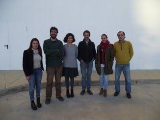 Participantes en una charla sobre el sector agroforestal en la UHU
