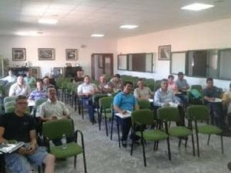 Uno de los cursos de Asaja impartidos en Gibraleón