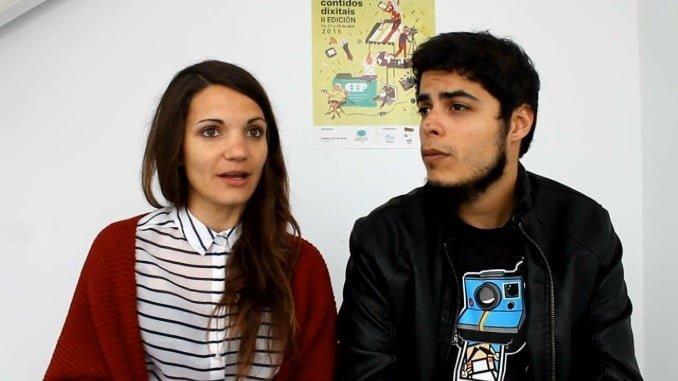 """David Sáinz y Teresa Segura, creadores de la popular webserie """"Malviviendo"""""""