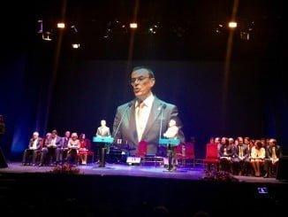 El presidente de la Diputación ha resaltado las bondades de Huelva en su discurso