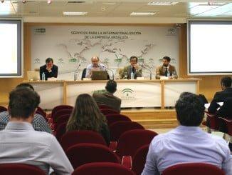 Jornadas sobre e-commerce celebradas en la sede de Extenda en Sevilla