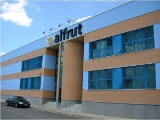 Nave hortofrutícola de Alfruit, una de las empresas que se han sumado a Adesva