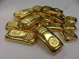 Entre el tesoro, se encuentran 37 lingotes de 1 kilo cada uno