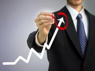 Por segundo mes consecutivo, la cifra de negocio empresarial sube