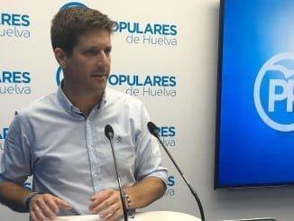 García Longoria ha valorado los Presupuestos Generales de la Junta de Andalucía para Huelva
