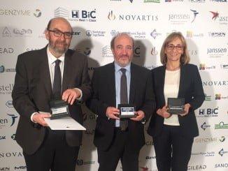 La ceremonia de entrega de los premios a los ganadores tuvo lugar en el hospital La Fe de Valencia