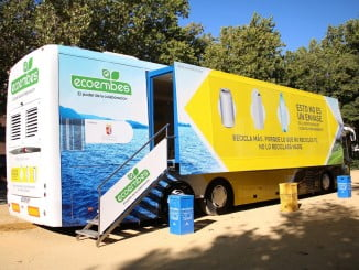 """El autobús de """"Reciclaplus"""" estará instalado durante cinco días en el municipio"""
