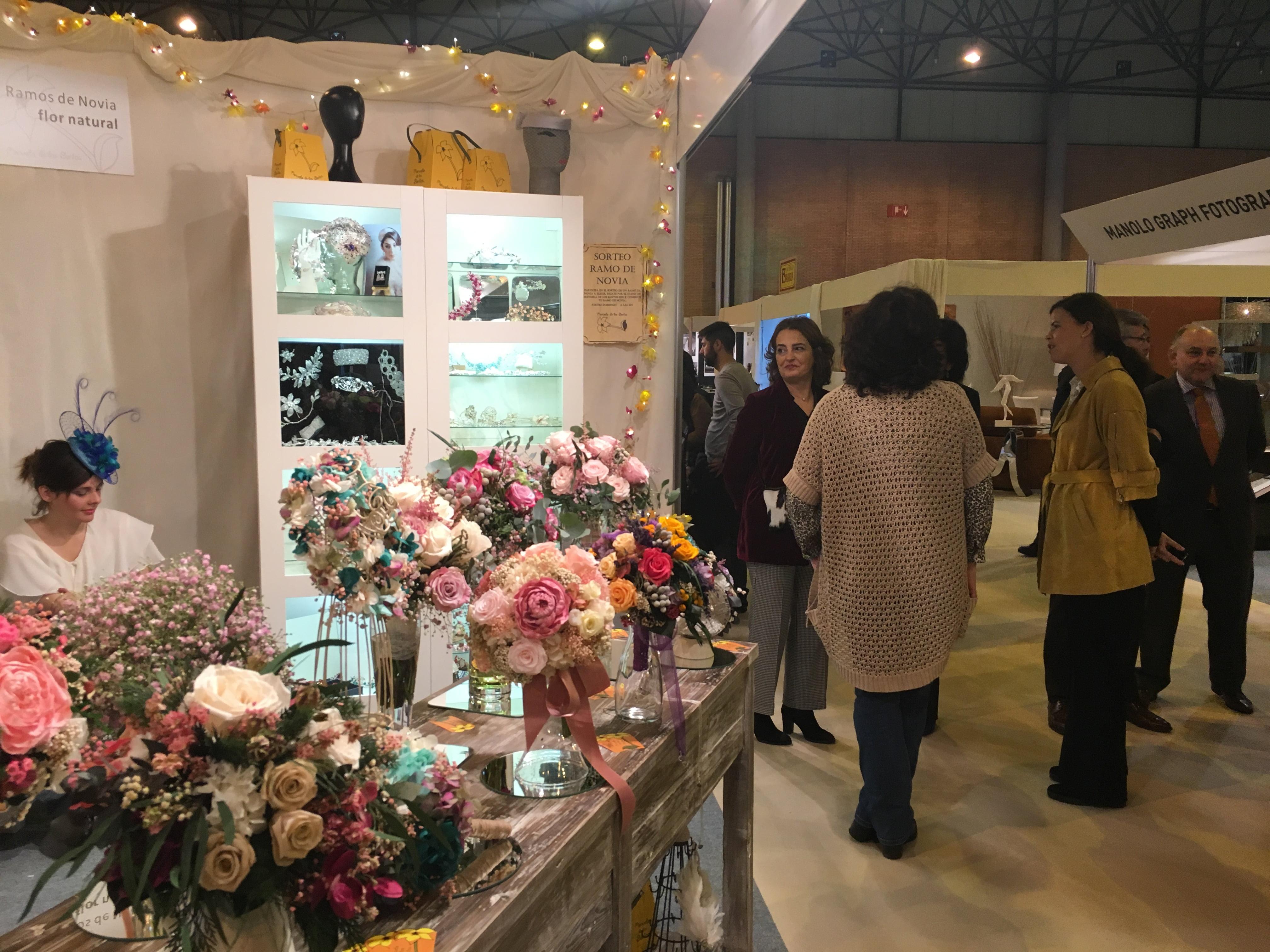Multitud de sectores económicos, como el de las flores, están implicados en la organización de una boda