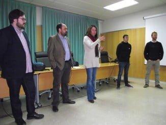 Carmen Santín ha destacado los buenos resultados de este programa de becas