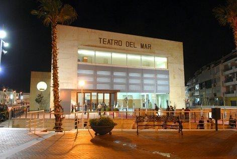 Teatro del Mar en Punta Umbría, donde se representará la obra benéfica