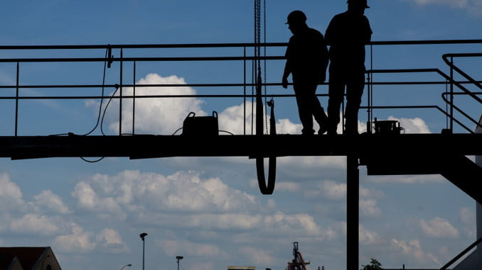 El gasto de innovación tecnológica disminuyó un 13,4% en la Construcción