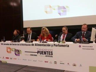 Un momento de la inauguración de las VII Jornadas Andaluzas del Sector de la Distribución