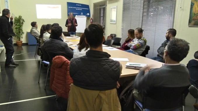 En la sede de la FOE en Aracena, se ha hablado del Sistema Itaca