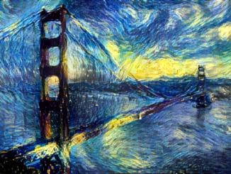 El video que muestra varias obras de Van Gogh se hizo viral en pocas horas
