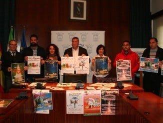 Presentación de la campaña de Navidad en el Ayuntamiento de Cartaya