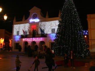 El gran árbol de Navidad, novedad en Cartaya