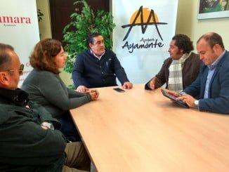 Reunión de representantes de Ciudadanos con empresarios ayamontinos