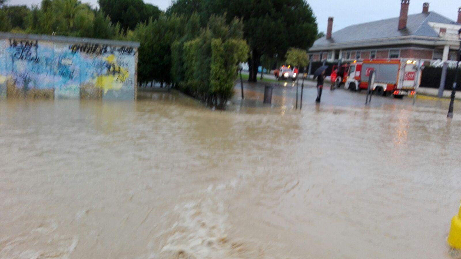 Al no tomarse ninguna medida, el arroyo volvió a desbordarse.