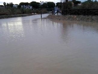 El arroyo de La Dehesa se volvió a desbordar