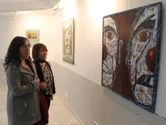 Exposición  montada por el Ayuntamiento de Huelva coincidiendo con el Día de la Discapacidad.