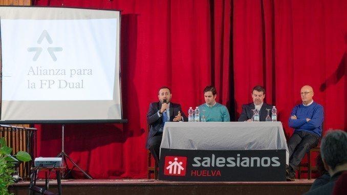 Proyecto Dual, formación y empresa, del Colegio Salesianos.