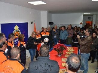 Acto inaugural en la nueva sede de Protección Civil de San Juan del Puerto