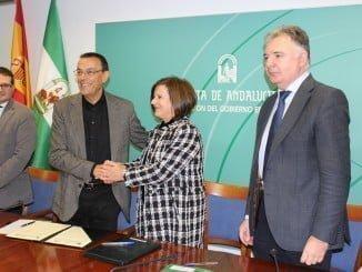 Apoyo de la Junta de Andalucía al Fondo Municipal de Solidaridad.
